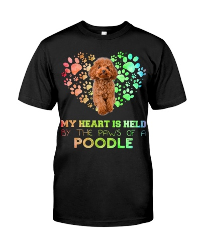Poodle Heart Paw