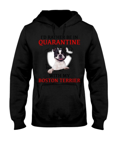 Quarantine With My Boston Terrier Face