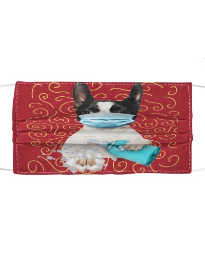 Boston Terrier-Face Mask-Wash-FM