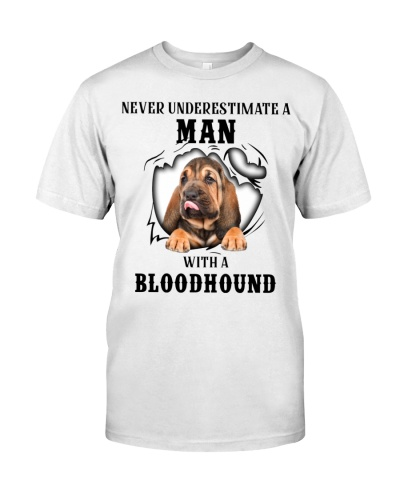 Man With A Bloodhound
