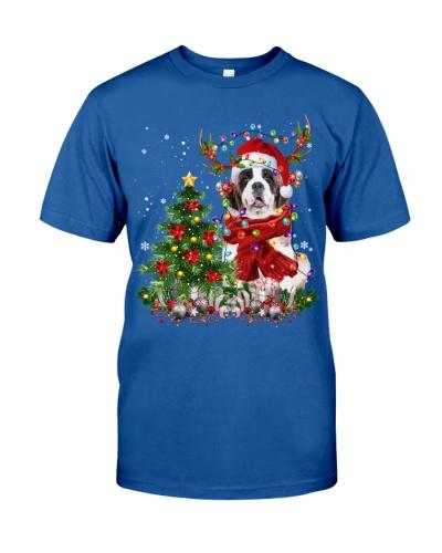 St Bernard-Reindeer-Christmas