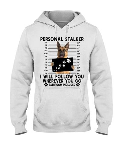 German Shepherd Funny Personal Stalker