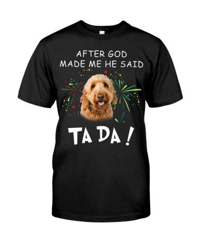 Goldendoodle-God Said Ta Da