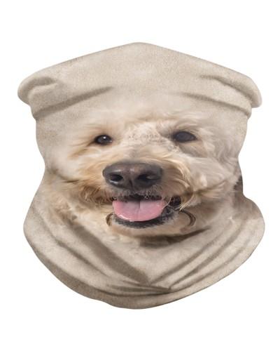 Goldendoodle Face 3D BDN