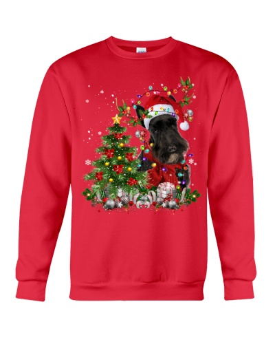Scottish Terrier-Reindeer-Christmas