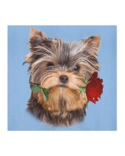 Yorkshire Terrier Rose FM Cloth face mask aos-face-mask-coverlet-lifestyle-front-02
