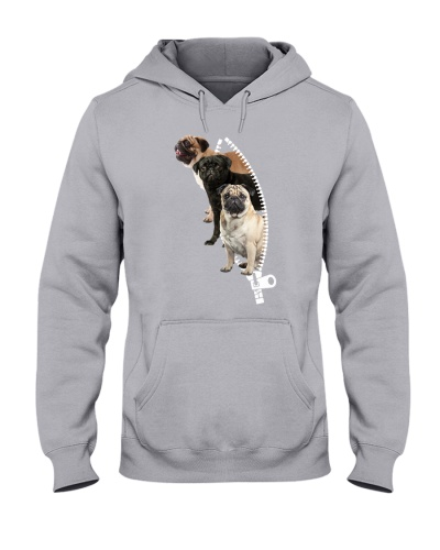 Pug - Zipper