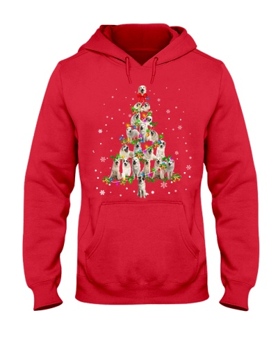 Great Pyrenees-Christmas Tree