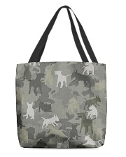 Bull Terrier-camouflage All-over Tote thumbnail