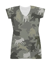 Bull Terrier-camouflage All-over Dress thumbnail