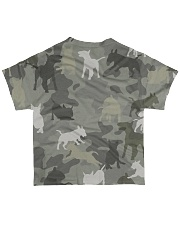 Bull Terrier-camouflage All-over T-Shirt back