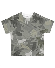 Bull Terrier-camouflage All-over T-Shirt front