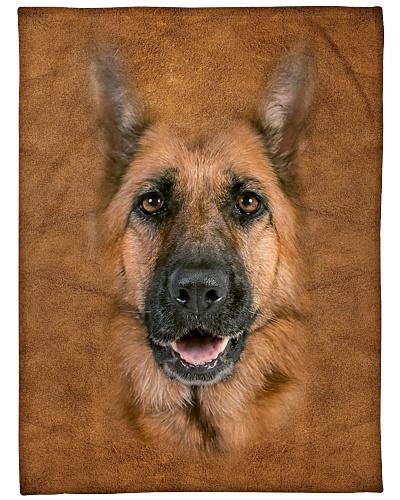 German Shepherd Face 3D