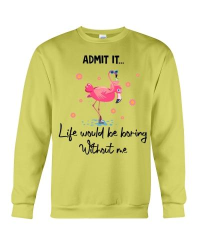 Flamingo Admit it