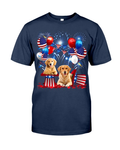 Golden Retriever Independence Day