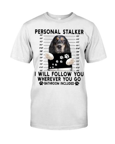 American Cocker Spaniel Funny Personal Stalker