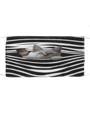 Birman Cat Stripes FM Cloth face mask front