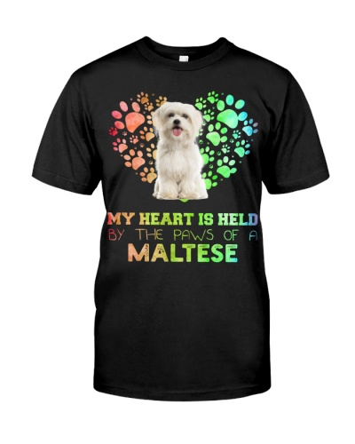 Maltese Heart Paw