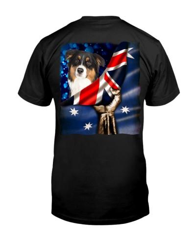 Flag of Australia-Australian Shepherd