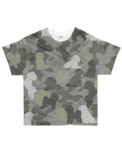Bichon Frise-camouflage