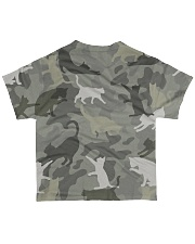 Cat-camouflage All-over T-Shirt back