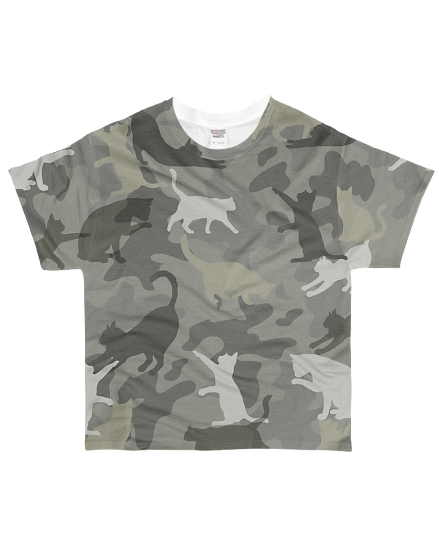 Cat-camouflage All-over T-Shirt