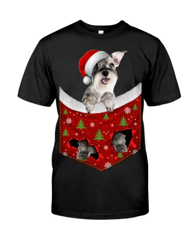 Schnauzer-Christmas Pocket