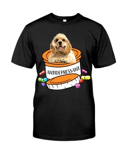 American Cocker Spaniel-Antidepressant