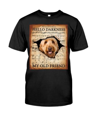 Goldendoodle Hello Darkness