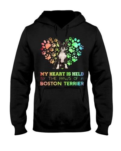 Boston Terrier Heart Paw