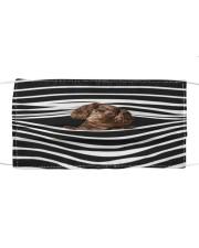 Boykin Spaniel Stripes FM Cloth face mask front