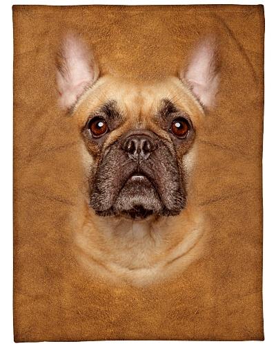 French Bulldog Face 3D