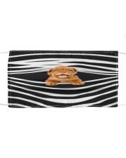 Dogue De Bordeaux Stripes FM Cloth face mask front