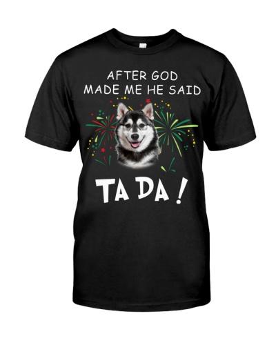 Husky-God Said Ta Da