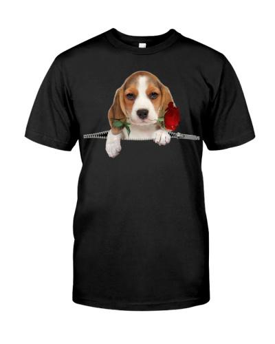 Beagle-Rose-Zipper