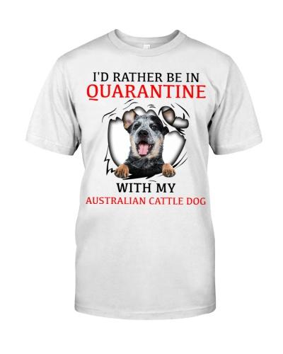 Quarantine With My Australian Cattle Dog