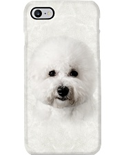 Bichon Frise-Face and Hair Phone Case tile
