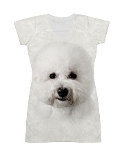 Bichon Frise-Face and Hair All-over Dress thumbnail
