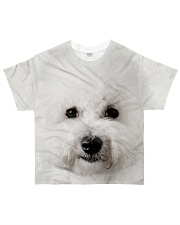 Bichon Frise-Face and Hair All-over T-Shirt front