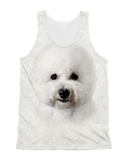 Bichon Frise-Face and Hair All-over Unisex Tank thumbnail