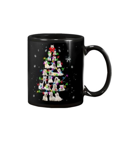 Westie - Christmas Tree