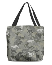 Borzoi-camouflage All-over Tote thumbnail
