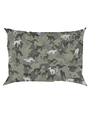 Borzoi-camouflage Rectangular Pillowcase thumbnail