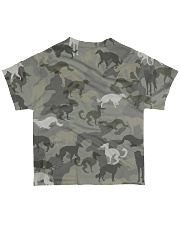 Borzoi-camouflage All-over T-Shirt back