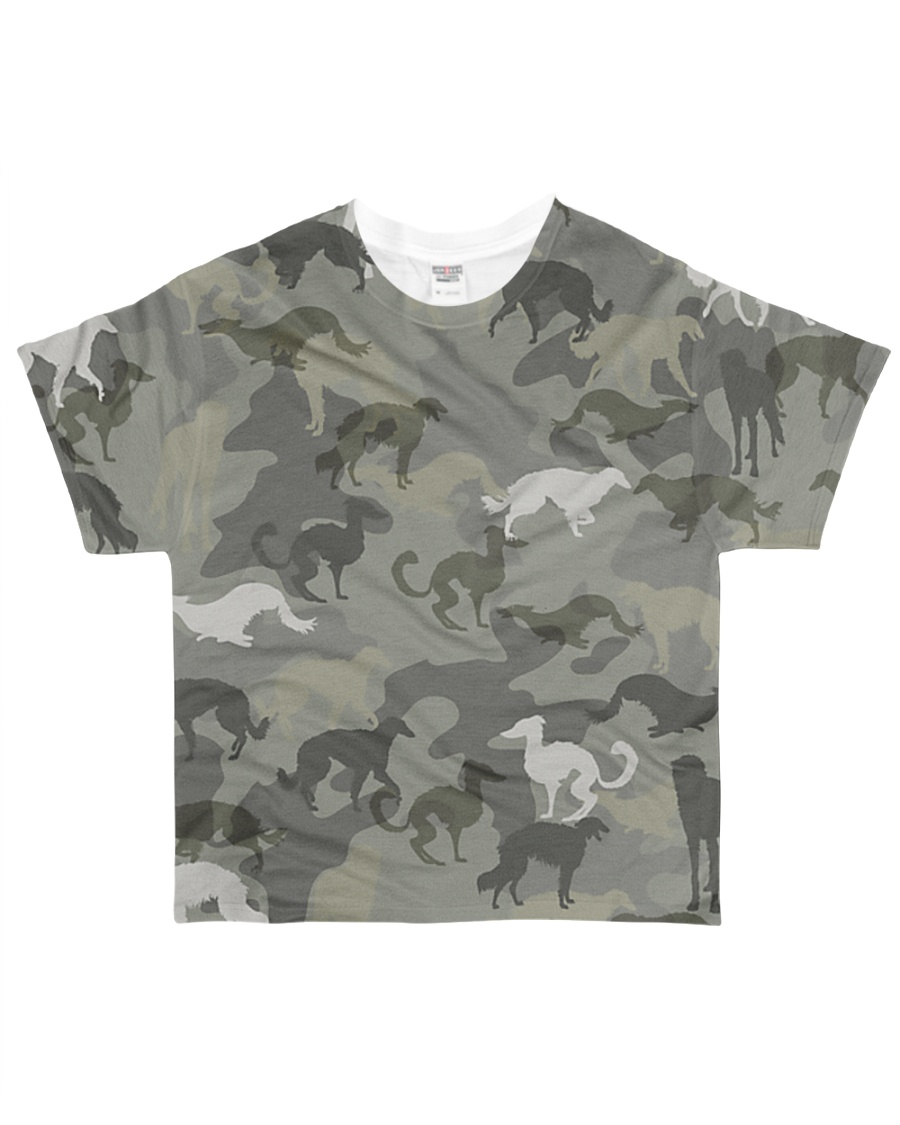 Borzoi-camouflage All-over T-Shirt