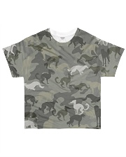 Borzoi-camouflage All-over T-Shirt front