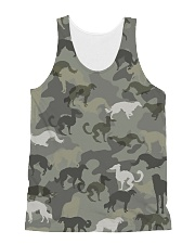 Borzoi-camouflage All-over Unisex Tank thumbnail