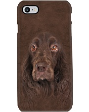 Field Spaniel-Face and Hair Phone Case tile