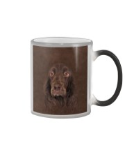 Field Spaniel-Face and Hair Color Changing Mug tile