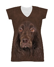 Field Spaniel-Face and Hair All-over Dress thumbnail